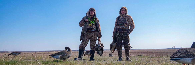 Чучела гусей для охоты